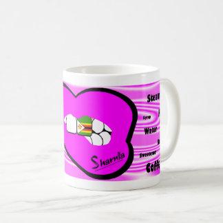 Sharnias Lippensimbabwe-Tasse (ROSA Lippe) Kaffeetasse