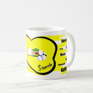 Sharnias Lippensimbabwe-Tasse (YEL Lippe) Kaffeetasse