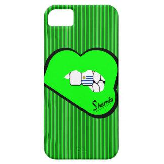Sharnias Lippenuruguay-Handy-Fall-GR-Lippen Schutzhülle Fürs iPhone 5