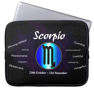 "Sharnias Skorpions-Neopren-Laptop-Hülse 15"" Laptopschutzhülle"