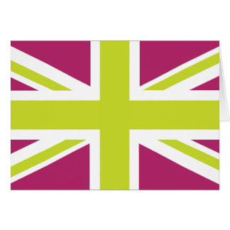 Sharpe lila Flagge Gewerkschafts-Jack-Briten Karte