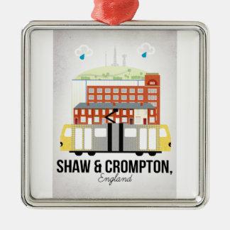 Shaw und Crompton Silbernes Ornament