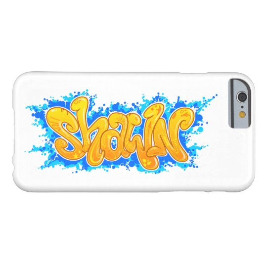 SHAWN Graffiti Art Name - Barely There iPhone 6 Hülle
