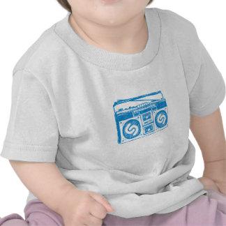Shazam Boombox T Shirts