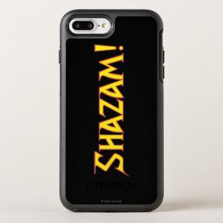 Shazam Logo-Gelb/Rot OtterBox Symmetry iPhone 8 Plus/7 Plus Hülle