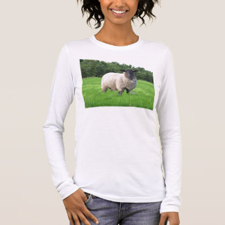 Sheal Damen-lange Hülse (angepasst) Langarm T-Shirt