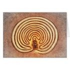 Sheela Na Gig im Labyrinth Karte