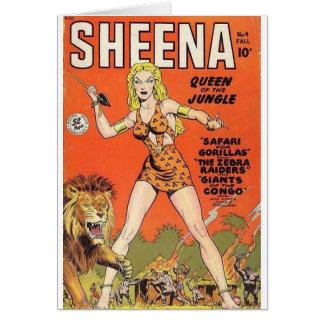 Sheena Dschungel-Krieger Karte