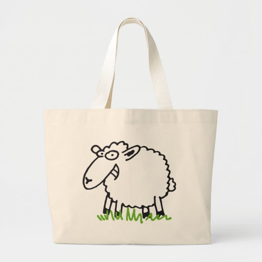 sheep jumbo stoffbeutel