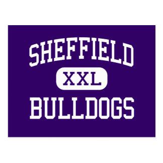 Sheffield - Bulldoggen - hoch - Sheffield Alabama Postkarte