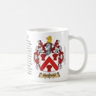 Sheffield, der Ursprung, die Bedeutung und das Kaffeetasse