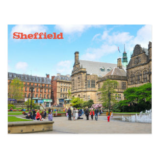 Sheffield Postkarte