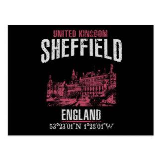 Sheffield Postkarte