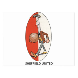 Sheffield United-Fußball-Verein Postkarte