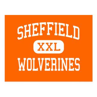 Sheffield - Vielfrasse - Bereich - Sheffield Postkarte