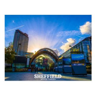 Sheffield-Wintergarten Postkarte