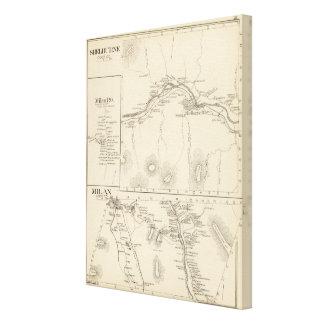 Shelburne, Gurren Co Gespannte Galeriedrucke