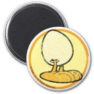 Sheldon der Ei-Magnet Kühlschrankmagnet