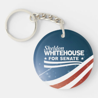 Sheldon Whitehouse für Senat Schlüsselanhänger