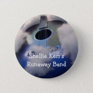 Shellie Kerrs Durchgehen-Band-Button Runder Button 5,7 Cm
