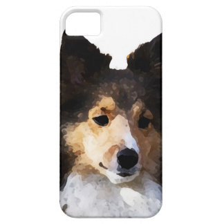 Sheltie Hundemalereiskizze Schutzhülle Fürs iPhone 5