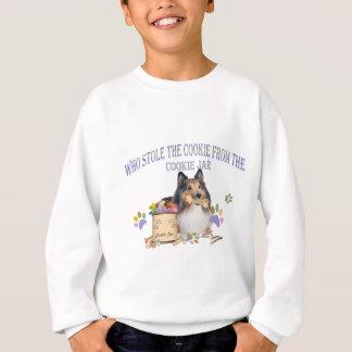 Sheltie stahl das Plätzchen-Kleid Sweatshirt