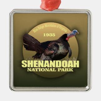 Shenandoah NP (die Türkei) GEWICHT Silbernes Ornament