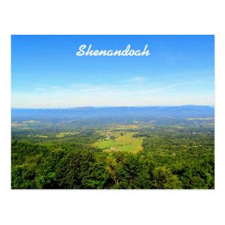 Shenandoah Valley Postkarte