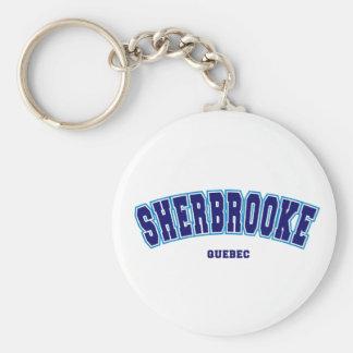Sherbrooke College Standard Runder Schlüsselanhänger