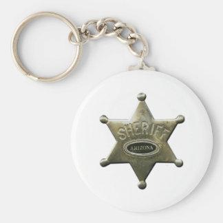 Sheriff Arizona Schlüsselanhänger