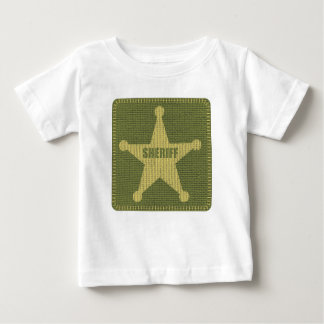 Sheriff-Säuglings-T - Shirt