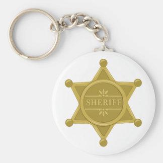 Sheriff Schlüsselanhänger