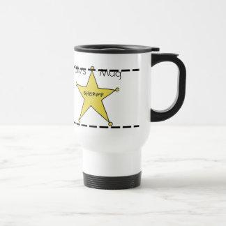 Sheriff-Tasse