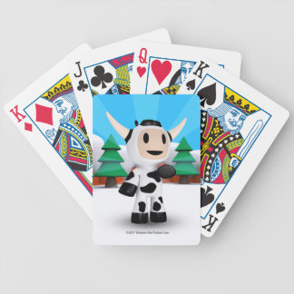 Sherman die alaskische Kuh-Spielkarten Bicycle Spielkarten