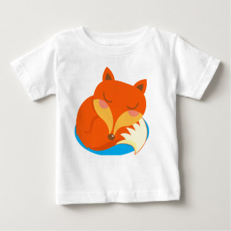 Shhh… Fox schläft Baby T-shirt