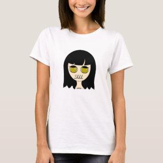 Shhh Goth Mädchen-Shirt T-Shirt