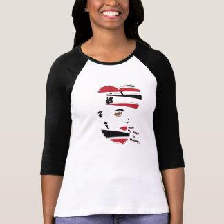 """""""Shhh!  Mein Herz denkt…"""" Raglan-T-Shirt T Shirt"""