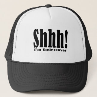 Shhhhh! Undercover Truckerkappe