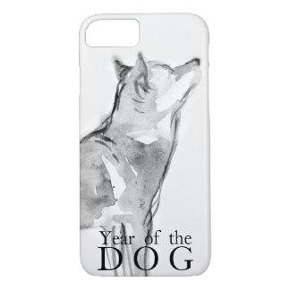Shiba Inu, das chinesisches Hundejahr 2018 Case1 iPhone 8/7 Hülle