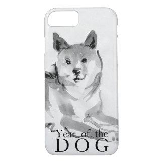Shiba Inu, das chinesisches Hundejahr 2018 Case2 iPhone 8/7 Hülle