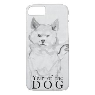 Shiba Inu, das chinesisches Hundejahr 2018 Case4 iPhone 8/7 Hülle