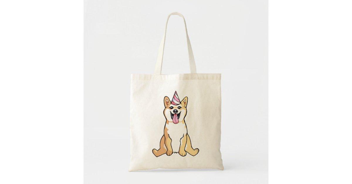 Shiba Inu Hund, der niedliche Taschen-Tasche Tragetasche | Zazzle