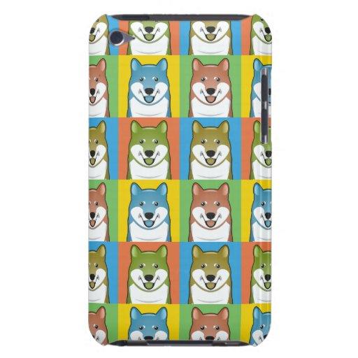 Shiba Inu HundeCartoon Pop-Kunst Case-Mate iPod Touch Case