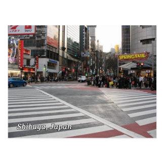 Shibuya 109 Crosswalks Postkarte