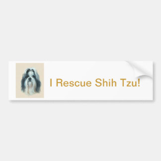 Shih Tzu Autoaufkleber