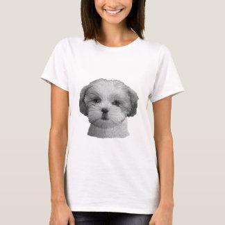 Shih Tzu - stilisiertes Bild - addieren Sie Ihren T-Shirt