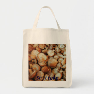 Shiitake-Pilz-Lebensmittelgeschäft-Taschen-Tasche Tragetasche