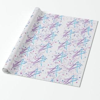 Shimmershine Packpapier (auf Weiß)