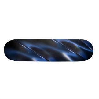 Shine-metallisches blaues abstraktes 21,6 cm skateboard deck