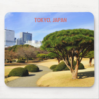 Shinjuku Gyoen nationaler Garten in Tokyo, Japan Mauspad